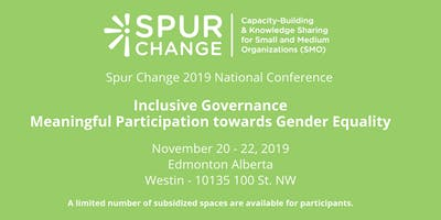 Spur Change National Conference 2019
