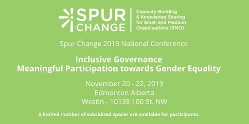 Spur Change National Conference 2019