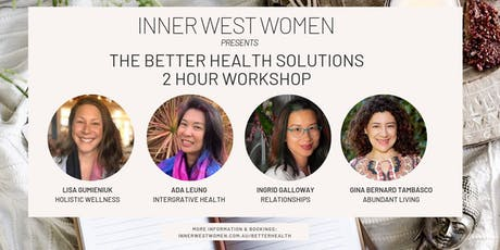 Better Health Solutions Workshop tickets