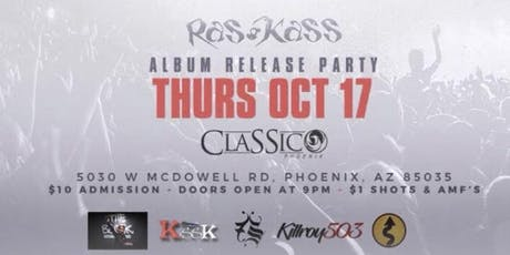 RAS KASS ALBUM RELEASE PARTY FOR SOUL ON FIRE 2 tickets