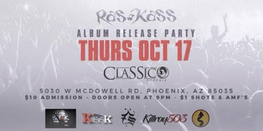RAS KASS ALBUM RELEASE PARTY FOR SOUL ON FIRE 2