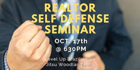 Realtor Self Defense -Men and Women in Woodland Hills, Los Angeles, CA tickets