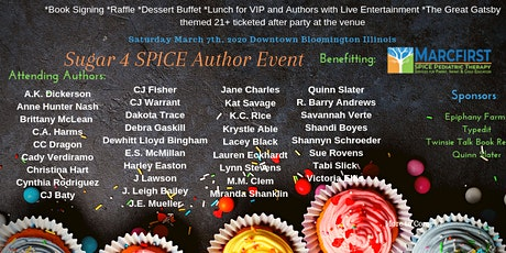 Sugar 4 SPICE Authors Event tickets