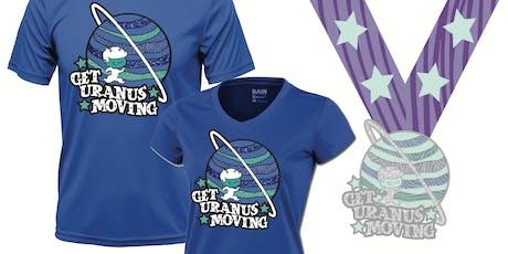 Get Uranus Moving! Run & Walk Challenge- Save 40% Now! -Flint tickets