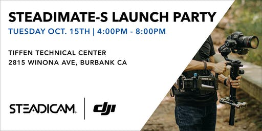 Steadimate-S Launch Party with DJI