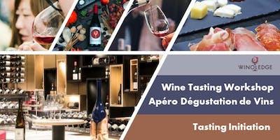 Friday Wine Tasting by Winoledge/Vendredi Apéro D