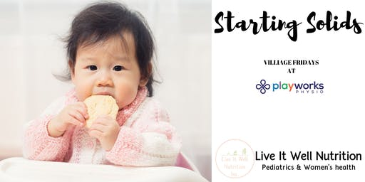 Starting Solids | Baby's First Foods at Physio Works!