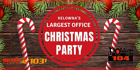 Kelowna's Largest Office Christmas Party - DINNER tickets