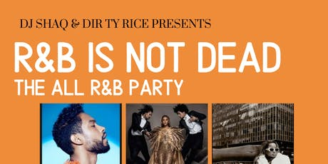 The All R&B Party tickets