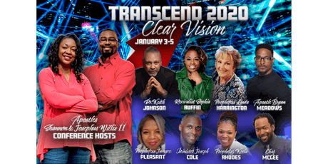Transcend 2020 Clear Vision tickets