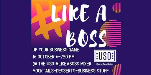 #LikeABoss Entrepreneurship Mixer