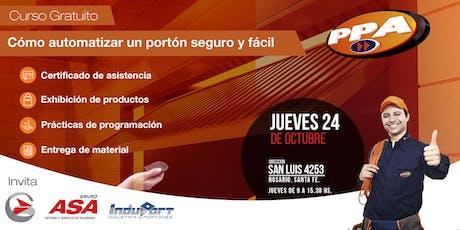 Cómo armar y automatizar un portón  fácil y seguro / Rosario /24/10 entradas