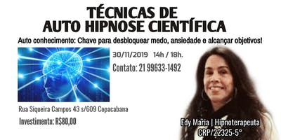 TÉCNICAS DE AUTO HIPNOSE CIENTÍFICA.