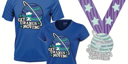 Get Uranus Moving! Run & Walk Challenge- Save 40% Now! -Memphis