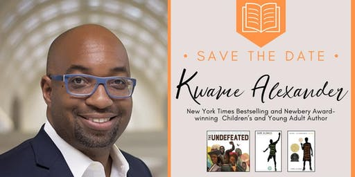 Newbery Award-Winning Author Kwame Alexander