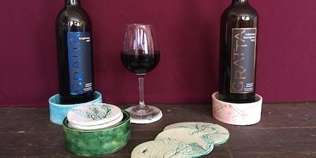 Spark Ceramics Workshop with Gratta Wines tickets