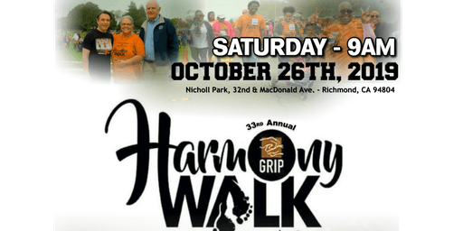 GRIP - 33rd Annual - HARMONY WALK 2019