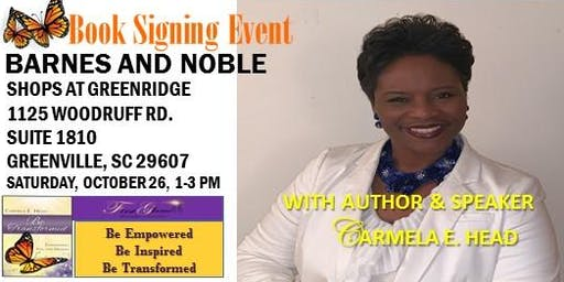 Author & Speaker, Carmela E. Head, Meet & Greet- Book Signing Event