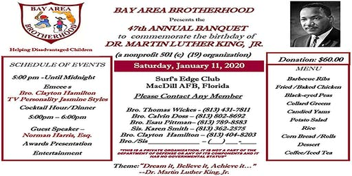 47th Annual Banquet Commemorating  Dr. Martin Luther King, Jr