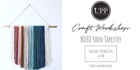 Craft Workshop | BOHO Yarn Tapestry tickets