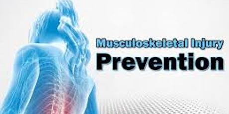 Start Stopping Musculoskeletal Injuries Now tickets