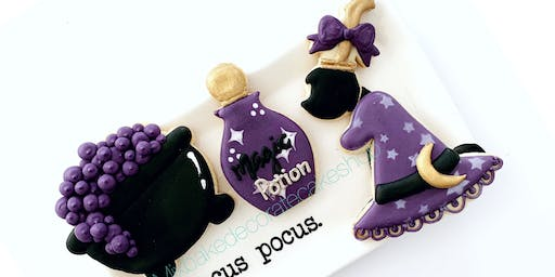 Witch Halloween Cookie Class