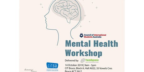 Mental Health Workshop - ACT tickets