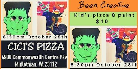 Kid's Pizza & Paint tickets