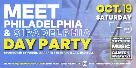 Meet Philadelphia + Sipadelphia Day Party tickets