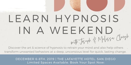 Learn Hypnosis in a Weekend