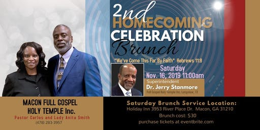 Macon Full Gospel Holy Temple Brunch Service
