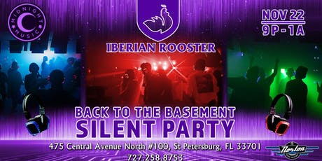 Back to the Basement Silent Party tickets