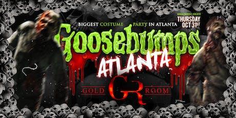 Goosebumps Atlanta Halloween Night at GOLD ROOM (21+) tickets
