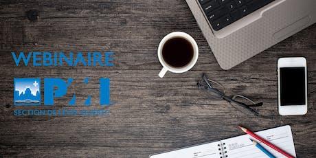 Webinaire | Un plan de continuité d'activité (PCA): Un projet d'entreprise dont vous êtes le principal acteur billets