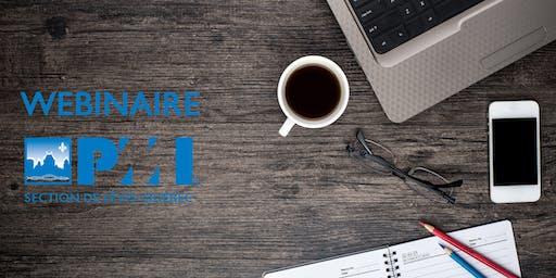 Webinaire | Un plan de continuité d'activité (PCA): Un projet d'entreprise dont vous êtes le principal acteur
