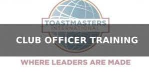Dstrict 38/Toastmasters Leadership Institute (TLI)Winter  Club Officer Training