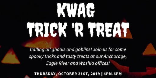 Anchorage KWAG Trick 'R Treat