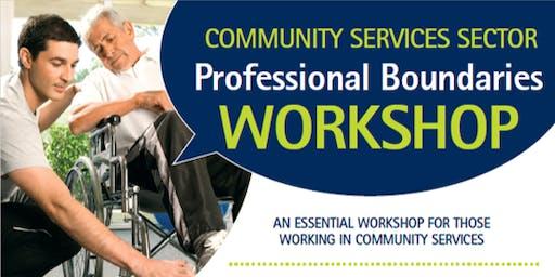 Professional Boundaries Workshop - Murraylands