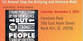 1st Annual Stop The Bullying and Violence Walk