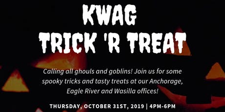 Eagle River KWAG Trick 'R Treat tickets