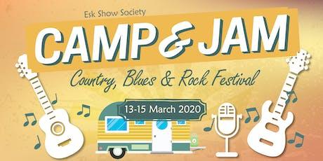 CAMP & JAM tickets