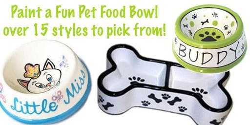 Pet Bowl Pottery Painting & Pet Supply Drive