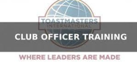 District 38/Toastmasters Leadership Institute (TLI)  Winter Club Officer Training tickets