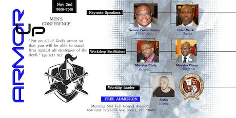 Armor Up! Men's Conference tickets