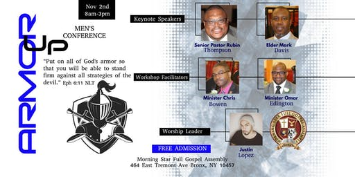 Armor Up! Men's Conference