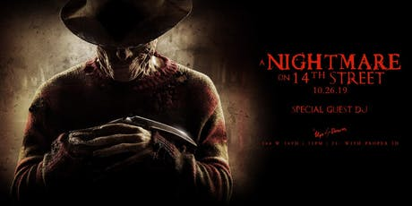 Nightmare on 14th Street at Up & Down Halloween10/26 tickets