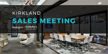 Sales Meeting at RSIR Kirkland tickets