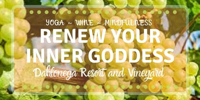 Renew Your InnerGoddess with 3 Days of Yoga, Wine, Mindfulness, & Labyrinth