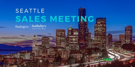 Sales Meeting at RSIR Seattle tickets