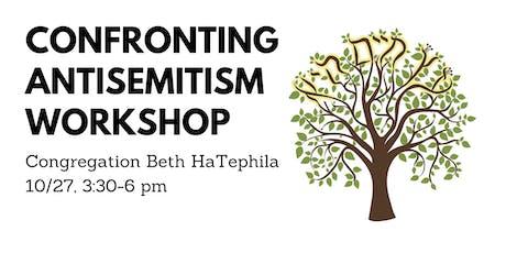 Confronting Antisemitism Workshop tickets